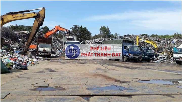Thu mua phế liệu thành phố Tân An